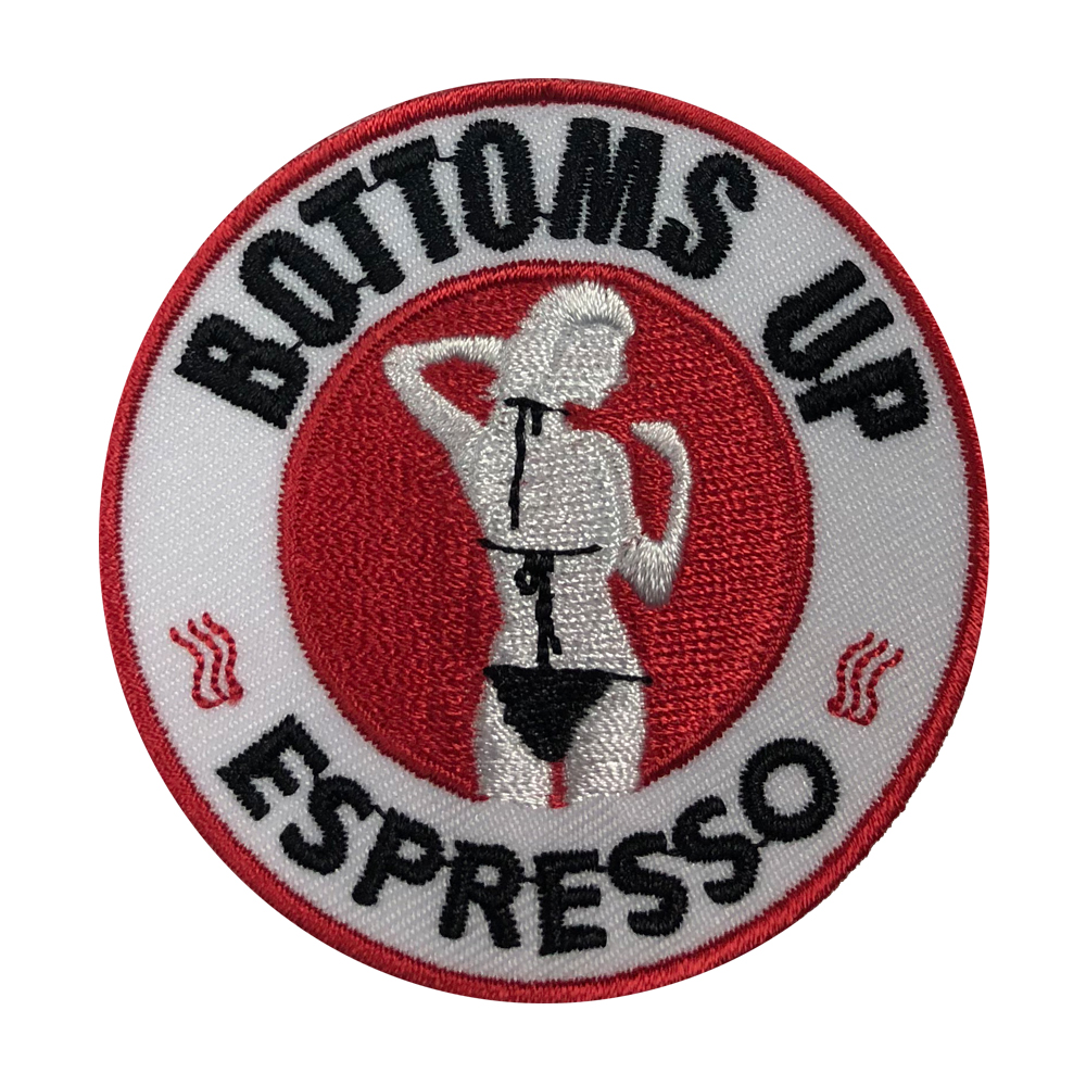 Bottoms Up Logo Patch